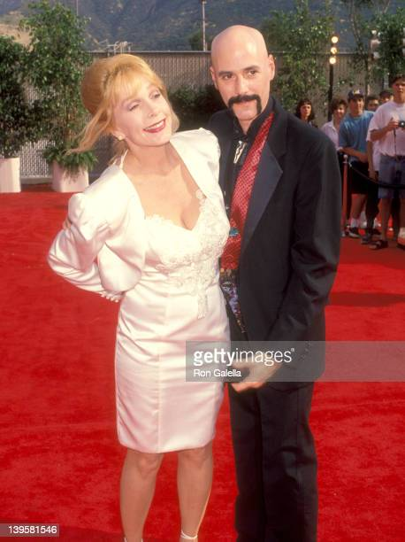 Actress Stella Stevens and musician Bob Kulick attend the Bob Hope The First 90 Years Television Special to Celebrate Bob Hope's 90th Birthday on May...