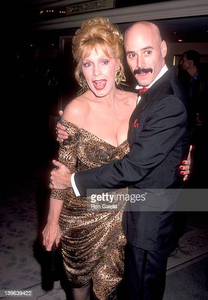 Actress Stella Stevens and musician Bob Kulick attend the Friars Club of California's Lifetime Achievement Award Salute to Bob Hope on November 7...