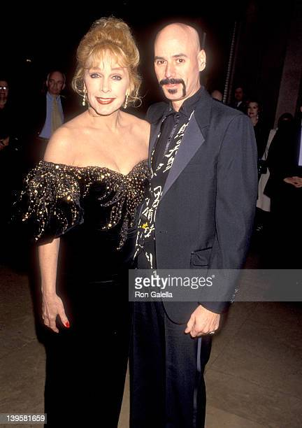Actress Stella Stevens and musician Bob Kulick attend the Friends of Sheba Medical Center at Tel Hasomer's Sheba Humanitarian Award Salute to...