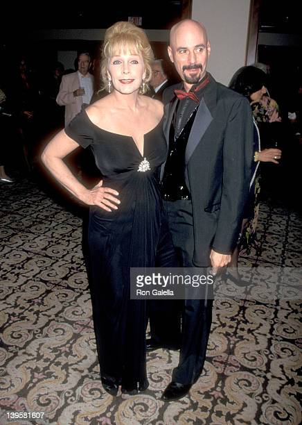 Actress Stella Stevens and musician Bob Kulick attend the Los Angeles Police Department's 126th Anniversary Gala/Second Annual Jack Webb Awards on...