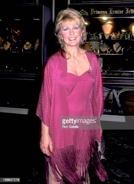 Actress Stella Stevens attends A Gala Evening in Monaco to Benefit the Dubnoff Center for Child Development on April 24 1981 at Beverly Hilton Hotel...
