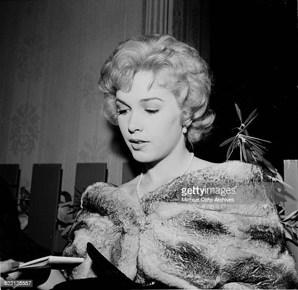 Actress Stella Stevens attends an event in Los AngelesCA