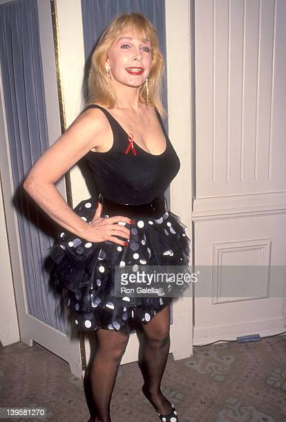 Actress Stella Stevens attends the 22nd Annual Nosotros Golden Eagle Awards on June 5 1992 at Beverly Hilton Hotel in Beverly Hills California
