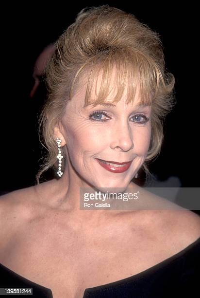 Actress Stella Stevens attends the Los Angeles Police Department's 126th Anniversary Gala/Second Annual Jack Webb Awards on October 26 1995 at...