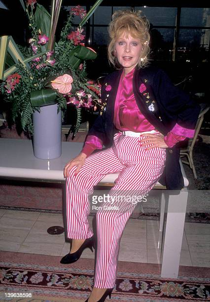 Actress Stella Stevens attends the NBC Winter TCA Press Tour on January 11, 1990 at the Registry Hotel in Universal City, California.