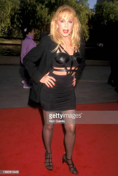 Actress Stella Stevens attends The Nutty Professor Universal City Premiere on June 27 1996 at Universal Amphitheatre in Universal City California