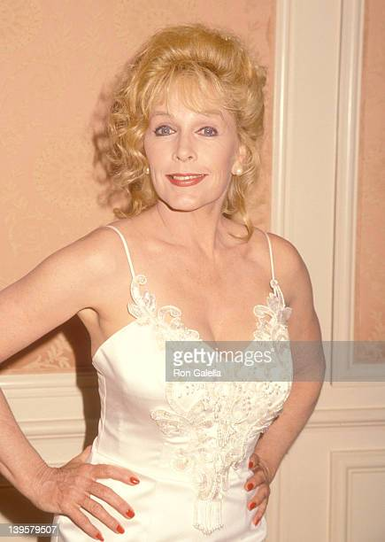 Actress Stella Stevens attends the Press Conference for the Heads of state and Hollywood Figures Appeal for Immediate Rescue of Civilian Victims in...
