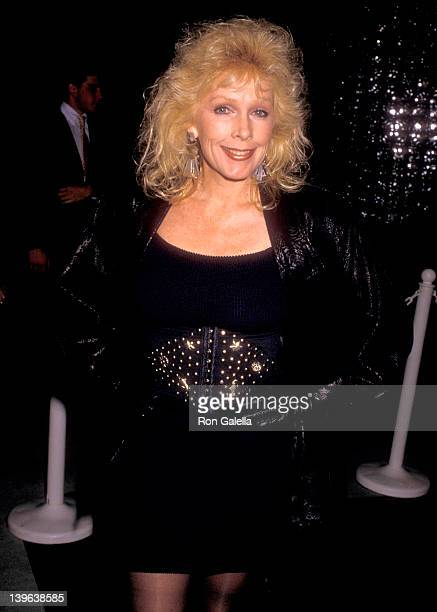 Actress Stella Stevens attends the Sports Club/LA's Superstar of Sports Award Honoring Earvin Magic Johnson In Conjuction with the One Year...