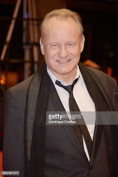 Actress Stellan Skarsgard attends the 'Return to Montauk' premiere during the 67th Berlinale International Film Festival Berlin at Berlinale Palace...