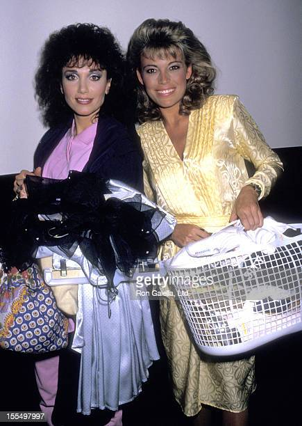 Actress Stepfanie Kramer and TV Personality Vanna White attend the Taping of Bob Hope's Television Special Bob Hope with His Beautiful Easter Bunnies...