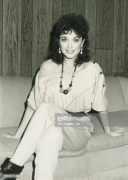 Actress Stepfanie Kramer attends the taping of The Merv Griffin Show on December 19 1983 at the Hollywood Palladium in Hollywood California