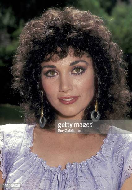Actress Stepfanie Kramer on August 13 1983 sighting at her home in San Fernando Valley California