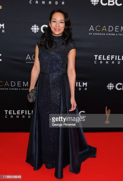 Actress Steph Song attends the 2019 Canadian Screen Awards Broadcast Gala at Sony Centre for the Performing Arts on March 31, 2019 in Toronto, Canada.