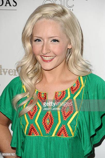 Actress Stephanie Ann Davies attends the premiere of 'Blood River' at the Egyptian Theater on March 24 2009 in Hollywood California