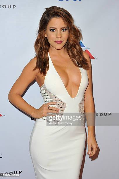 Actress Stephanie Bauer attends Universal Music Group's 2016 GRAMMY after party at The Theatre At The Ace Hotel on February 15 2016 in Los Angeles...
