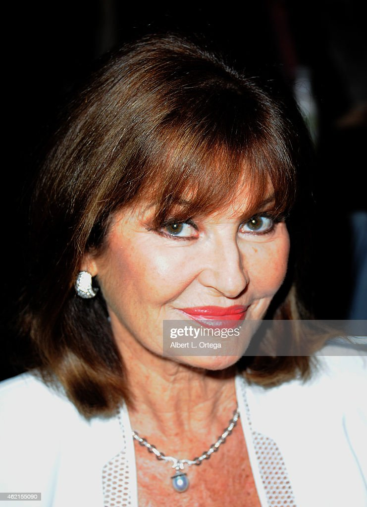 Actress Stephanie Beacham at The Hollywood Show held at The Westin Hotel LAX on January 24, 2015 in Los Angeles, California.