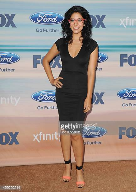 Actress Stephanie Beatriz arrives at the 2014 FOX Fall EcoCasino Party at The Bungalow on September 8 2014 in Santa Monica California