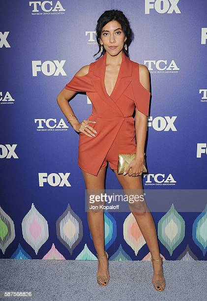 Actress Stephanie Beatriz arrives at the FOX Summer TCA Press Tour on August 8 2016 in Los Angeles California