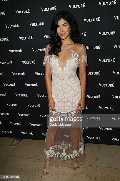 Actress Stephanie Beatriz arrives at the Vulture Awards Season Party at the Sunset Tower Hotel on December 8 2016 in West Hollywood California