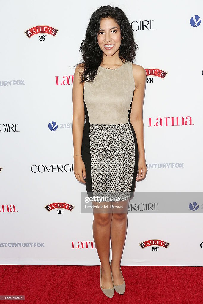 Actress Stephanie Beatriz attends Latina Magazine's 'Hollywood Hot List' Party at The Redbury Hotel on October 3, 2013 in Hollywood, California.