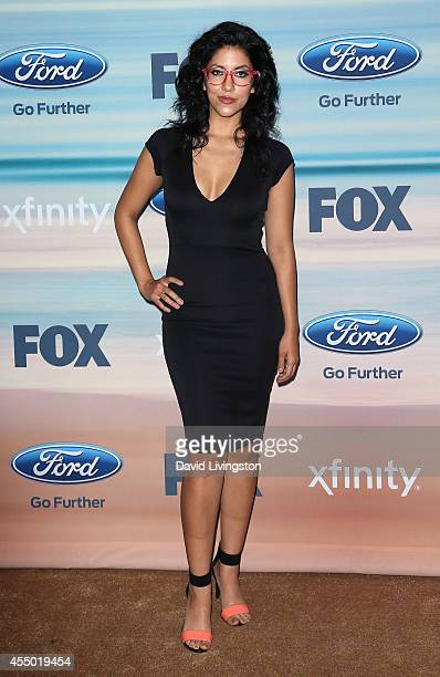 Actress Stephanie Beatriz attends the 2014 FOX Fall EcoCasino party at The Bungalow on September 8 2014 in Santa Monica California