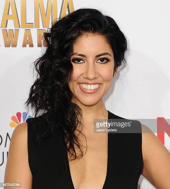 Actress Stephanie Beatriz attends the 2014 NCLR ALMA Awards at Pasadena Civic Auditorium on October 10 2014 in Pasadena California