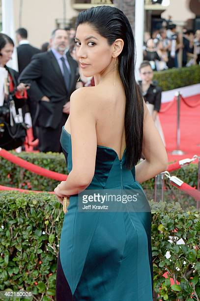 Actress Stephanie Beatriz attends the 21st Annual Screen Actors Guild Awards at The Shrine Auditorium on January 25 2015 in Los Angeles California