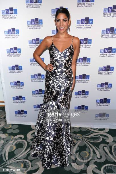 Actress Stephanie Beatriz attends the 22nd Annual National Hispanic Media Coalition Impact Awards Gala at Regent Beverly Wilshire Hotel on February...