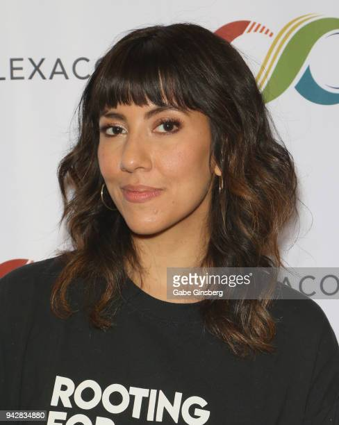 Actress Stephanie Beatriz attends the ClexaCon 2018 convention at the Tropicana Las Vegas on April 6, 2018 in Las Vegas, Nevada.