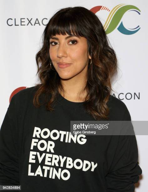 Actress Stephanie Beatriz attends the ClexaCon 2018 convention at the Tropicana Las Vegas on April 6 2018 in Las Vegas Nevada