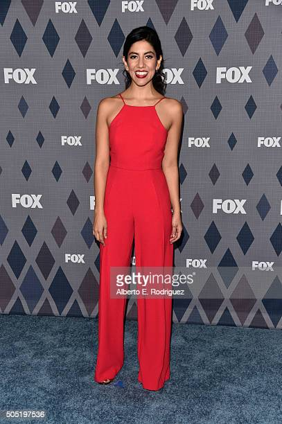 Actress Stephanie Beatriz attends the FOX Winter TCA 2016 AllStar Party at The Langham Huntington Hotel and Spa on January 15 2016 in Pasadena...