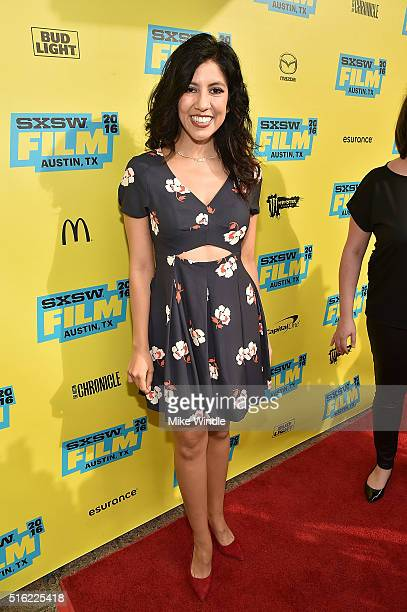 Actress Stephanie Beatriz attends the premiere of 'Peewee's Big Holiday' during the 2016 SXSW Music Film Interactive Festival at Paramount Theatre on...