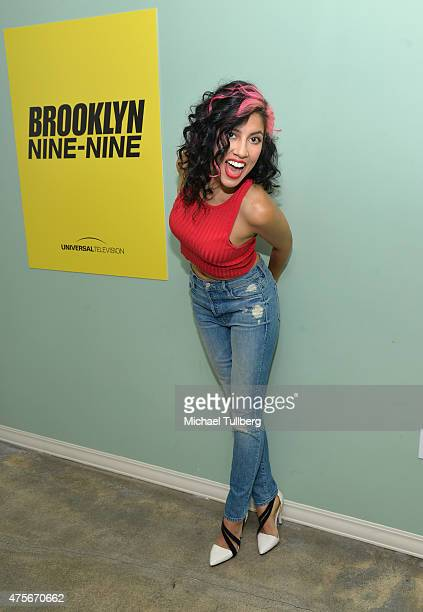 Actress Stephanie Beatriz attends Universal Television's Brooklyn NineNine FYC panel at UCB Sunset Theater on June 2 2015 in Los Angeles California