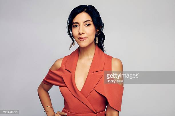 Actress Stephanie Beatriz from FOX's 'Brooklyn NineNine' poses for a portrait at the FOX Summer TCA Press Tour at Soho House on August 9 2016 in Los...