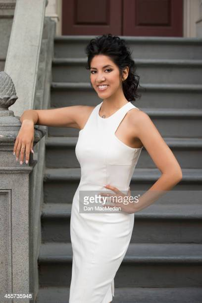 Actress Stephanie Beatriz is photographed for USA Today Hispanic Living on May 22 2014 in Los Angeles California