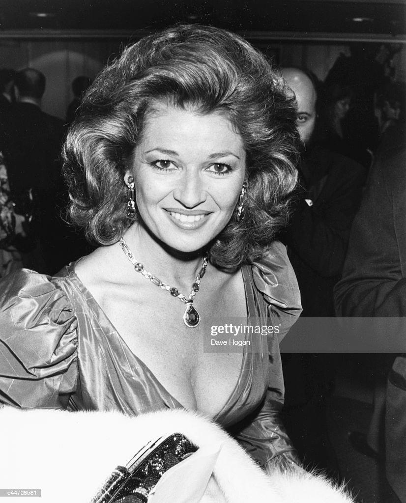 Actress Stephanie Beecham at the BAFTA Awards, London, March 23rd 1987.