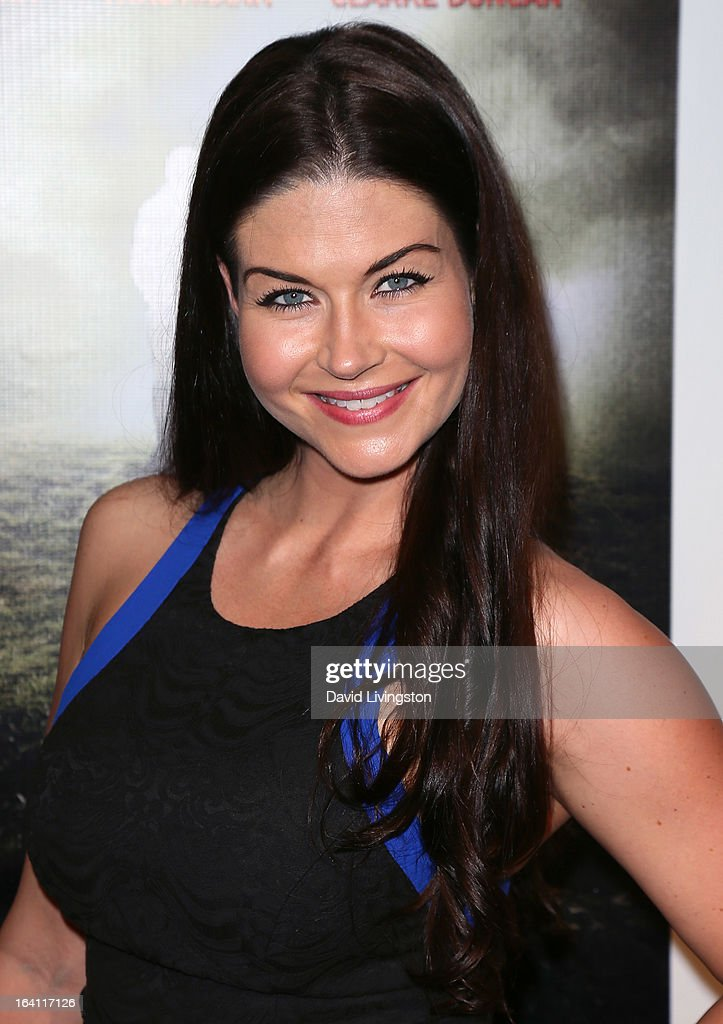 Actress Stephanie Beran attends the premiere of A