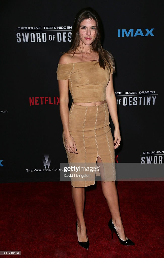 "Premiere Of Netflix's ""Crouching Tiger, Hidden Dragon: Sword Of Destiny"" - Arrivals : News Photo"