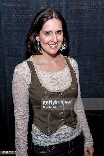 Actress Stephanie D'Abruzzo attends BroadwayCon 2016 at the New York Hilton Midtown on January 24 2016 in New York City
