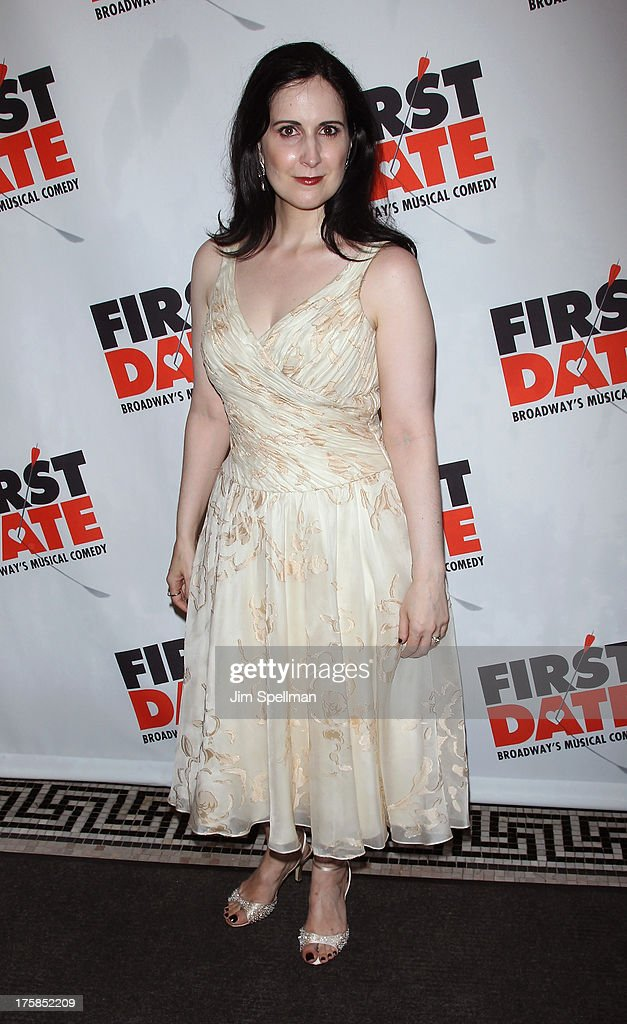 Actress Stephanie D'Abruzzo attends 'First Date' Broadway Opening Night at Longacre Theatre on August 8, 2013 in New York City.