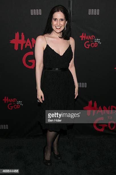 Actress Stephanie D'abruzzo attends 'Hand To God' Broadway Opening Night at Booth Theater on April 7 2015 in New York City