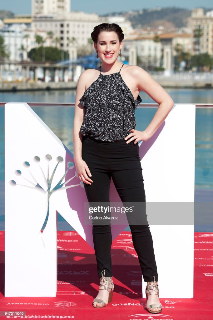 Actress Stephanie de Jongh attends 'A Voz Do Silencio' photocall at the 21th Malaga Film Festival on April 17, 2018 in Malaga, Spain.