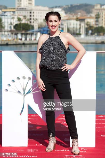 Actress Stephanie de Jongh attends 'A Voz Do Silencio' photocall at the 21th Malaga Film Festival on April 17 2018 in Malaga Spain