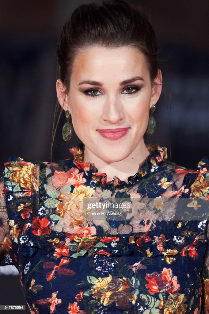 Actress Stephanie de Jongh attends 'Las Distancias' premiere during the 21th Malaga Film Festival at the Cervantes Theater on April 17, 2018 in Malaga, Spain.