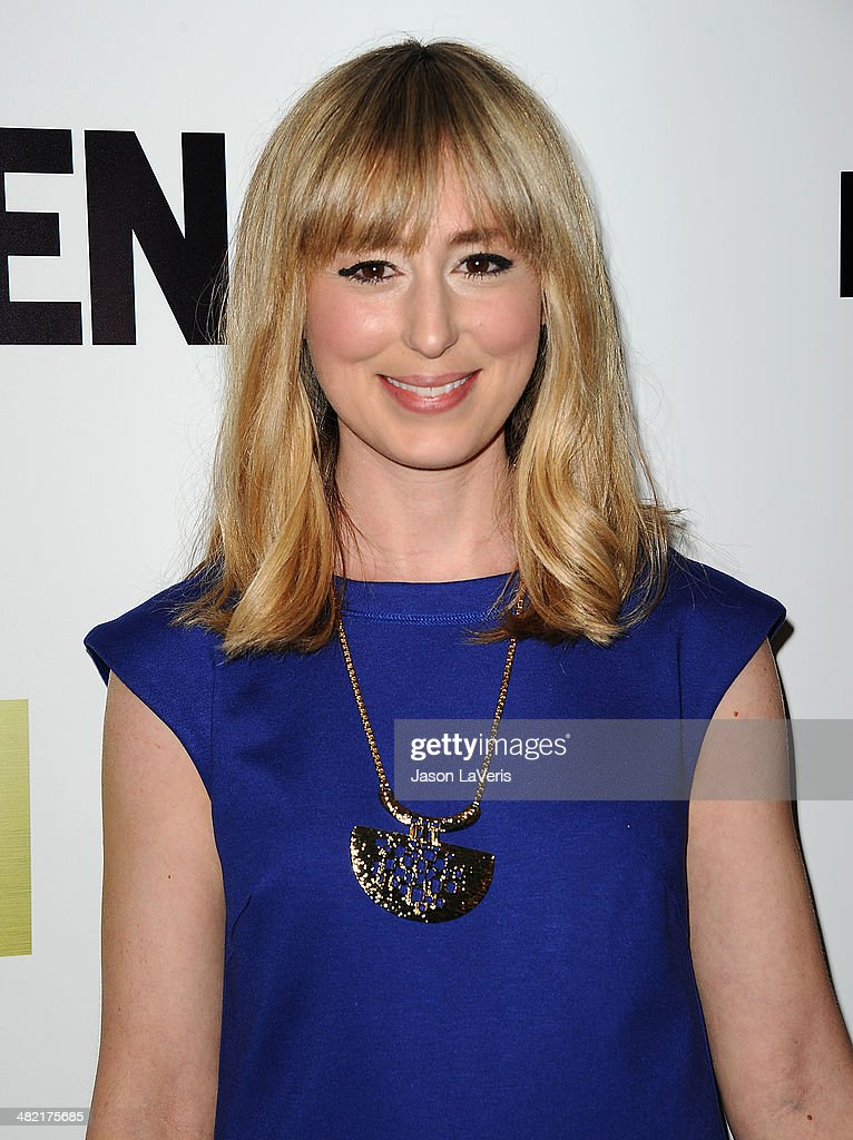 Actress Stephanie Drake Attends The Season 7 Premiere Of Mad Men
