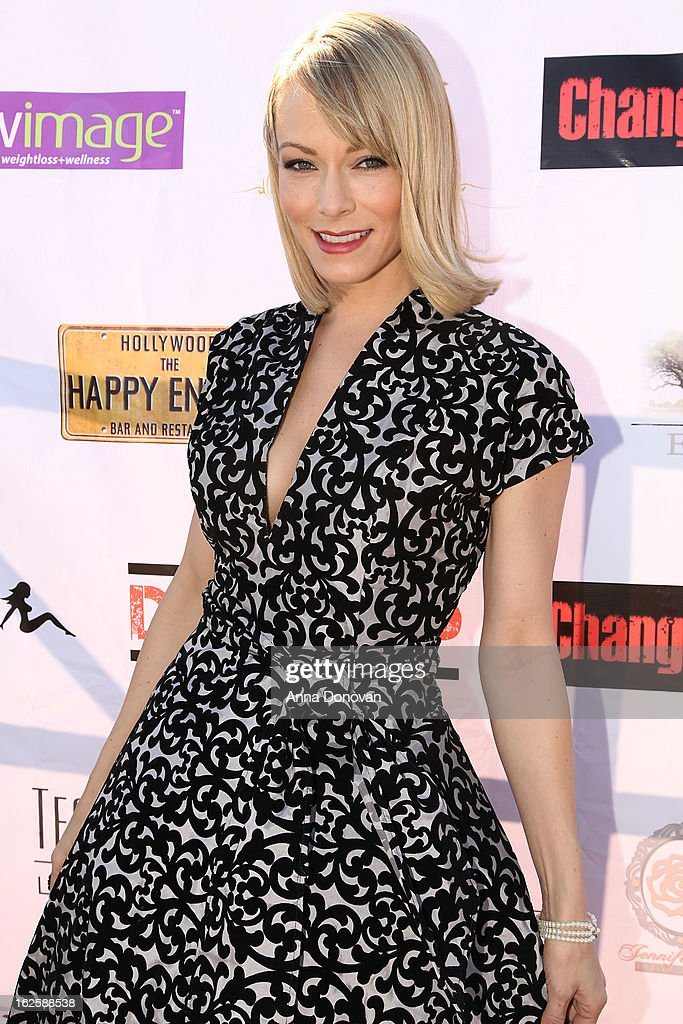 Actress Stephanie Drapeau attends the Los Angeles premiere of the movie 'Changing Hands' at The Happy Ending Bar & Restaurant on February 24, 2013 in Hollywood, California.