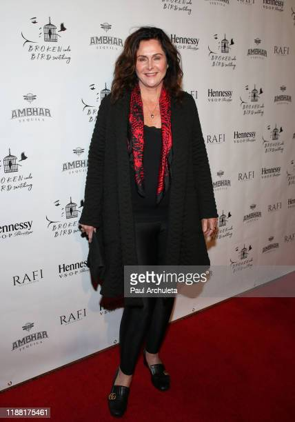Actress Stephanie Feury attends the media night preview of BROKEN Code BIRD Switching at S Feury Theater on November 16 2019 in Los Angeles California