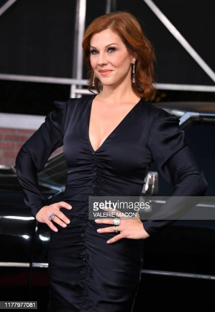 US actress Stephanie Kurtzuba arrives for the Los Angeles premiere of Netflix's The Irishman at the Chinese theatre in Hollywood on October 24 2019