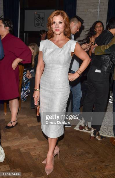 Actress Stephanie Kurtzuba attends the RBC Hosted Bad Education Cocktail Party At RBC House Toronto Film Festival 2019 at RBC House on September 08...