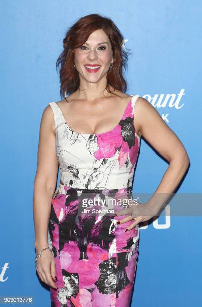 Actress Stephanie Kurtzuba attends the Waco world premiere at Jazz at Lincoln Center on January 22 2018 in New York City